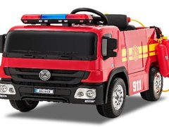 Masinuta electrica Pompieri Fire Truck Hollicy STANDARD  RED